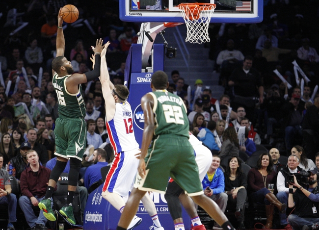 Bucks vs Pistons
